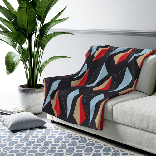 Flow by Tara Davis Sherpa Fleece Blanket