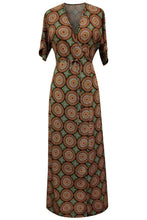 Flow by Tara Davis Medallion Print Wrap Dress - Flow by Tara Davis
