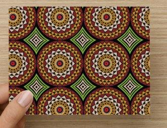 10 Medallion Note Cards by Flow by Tara Davis