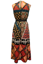 Flow by Tara Davis Tribal Print Knit Duster Wrap Dress - Flow by Tara Davis