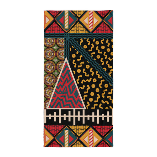 Flow by Tara Davis Tribal Print Towel