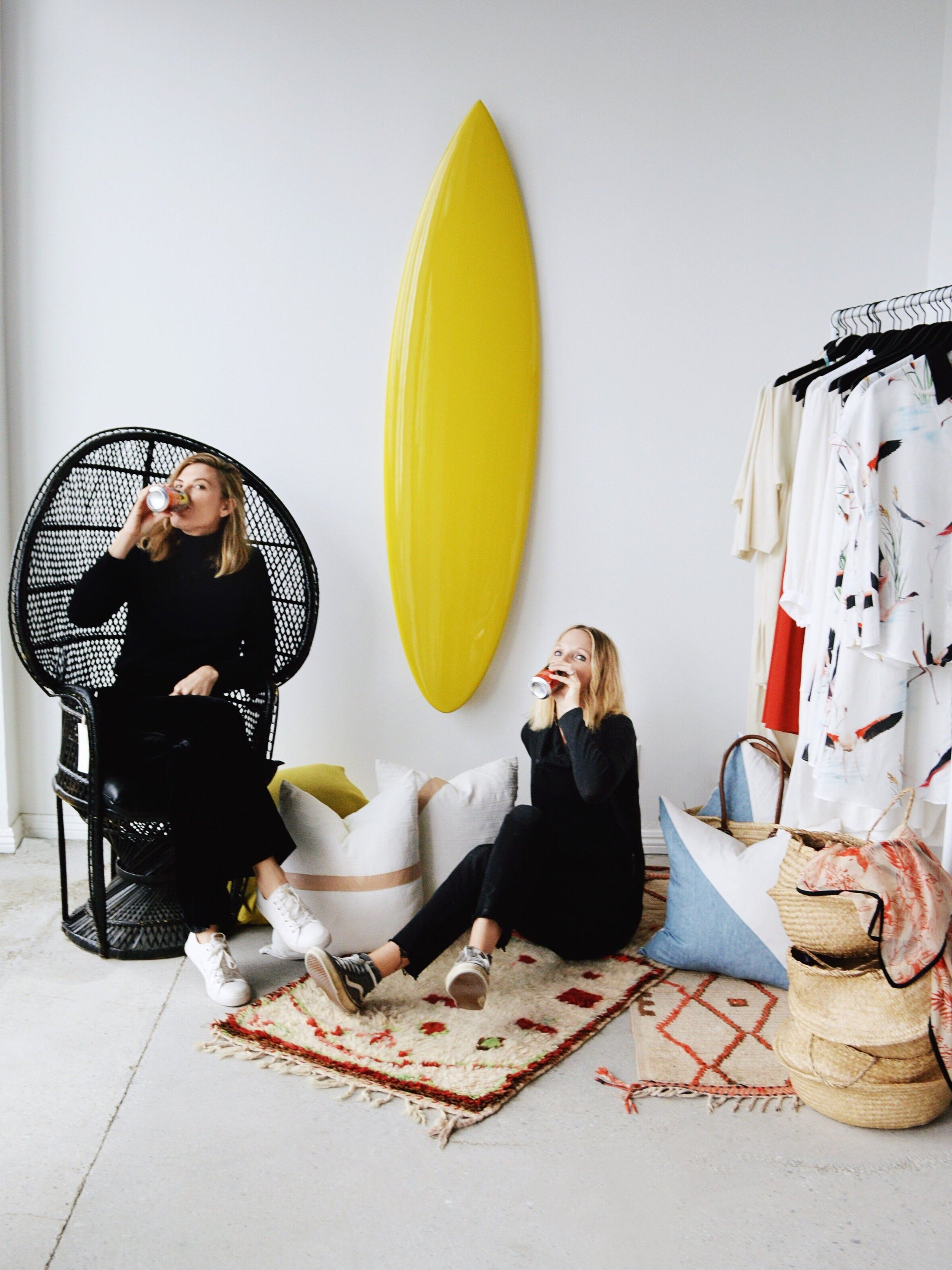 Join fashion designer Heidi Merrick and interior designer Kristin Dion this Saturday