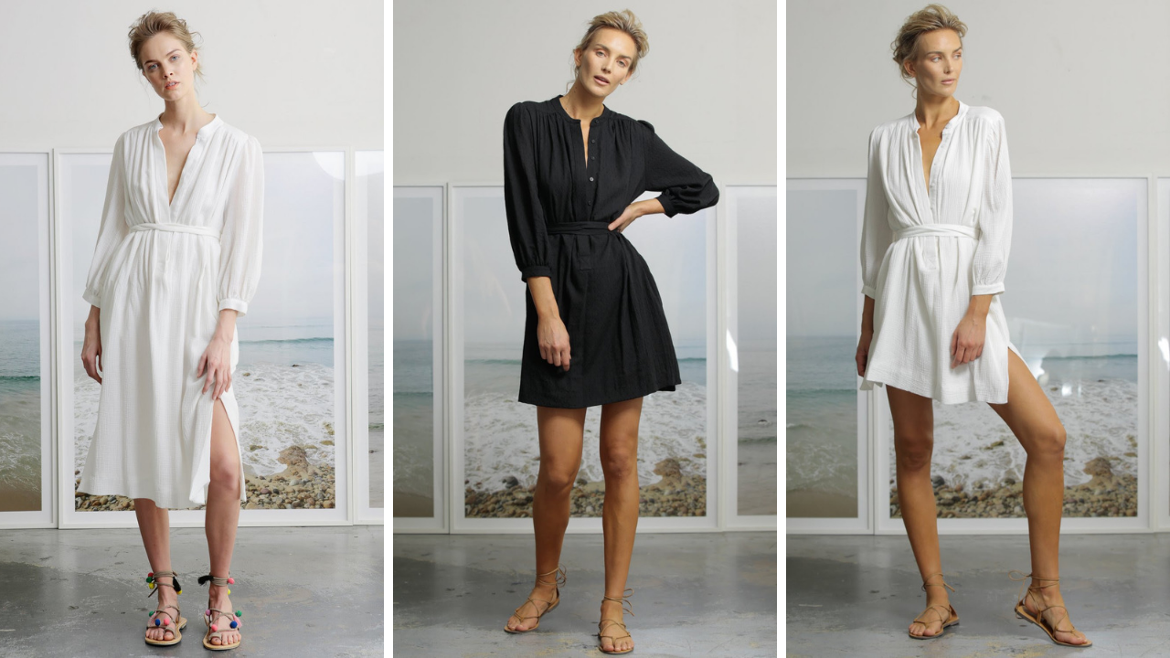 Your Beach Coverups Are Here!