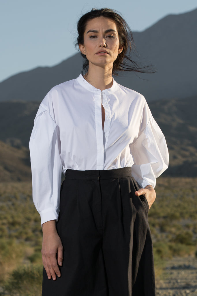 BAUDELAIRE TOP - WHITE