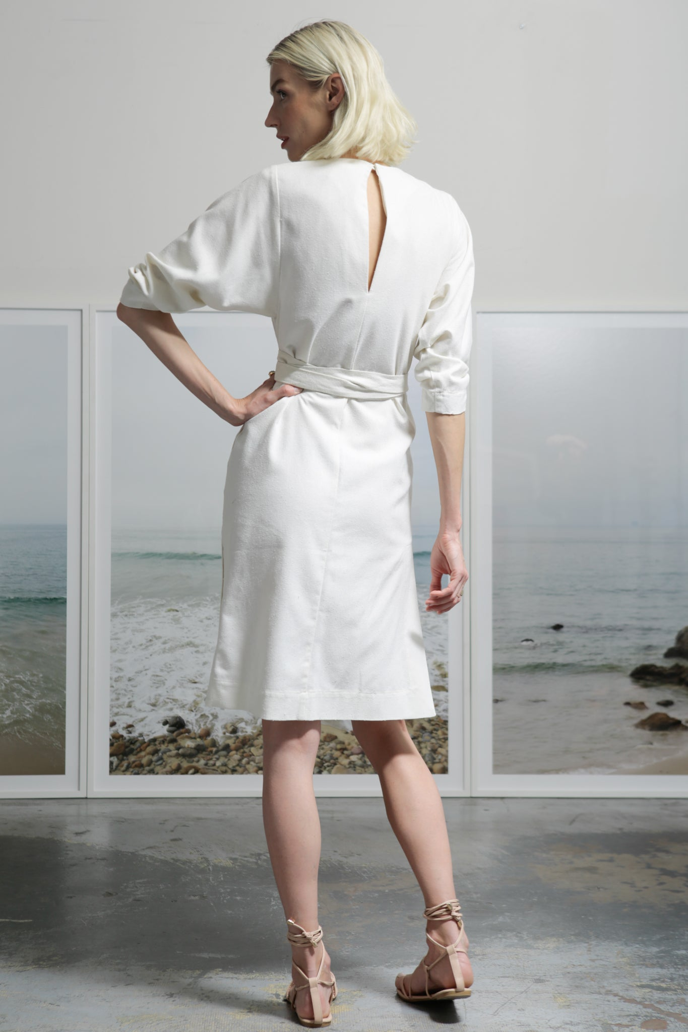 SPIAGGIA DRESS - IVORY