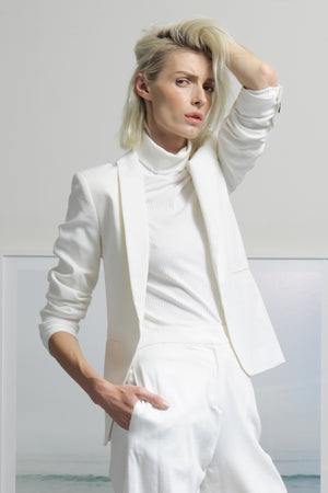 ILE BLAZER - WHITE SIZES 2/4
