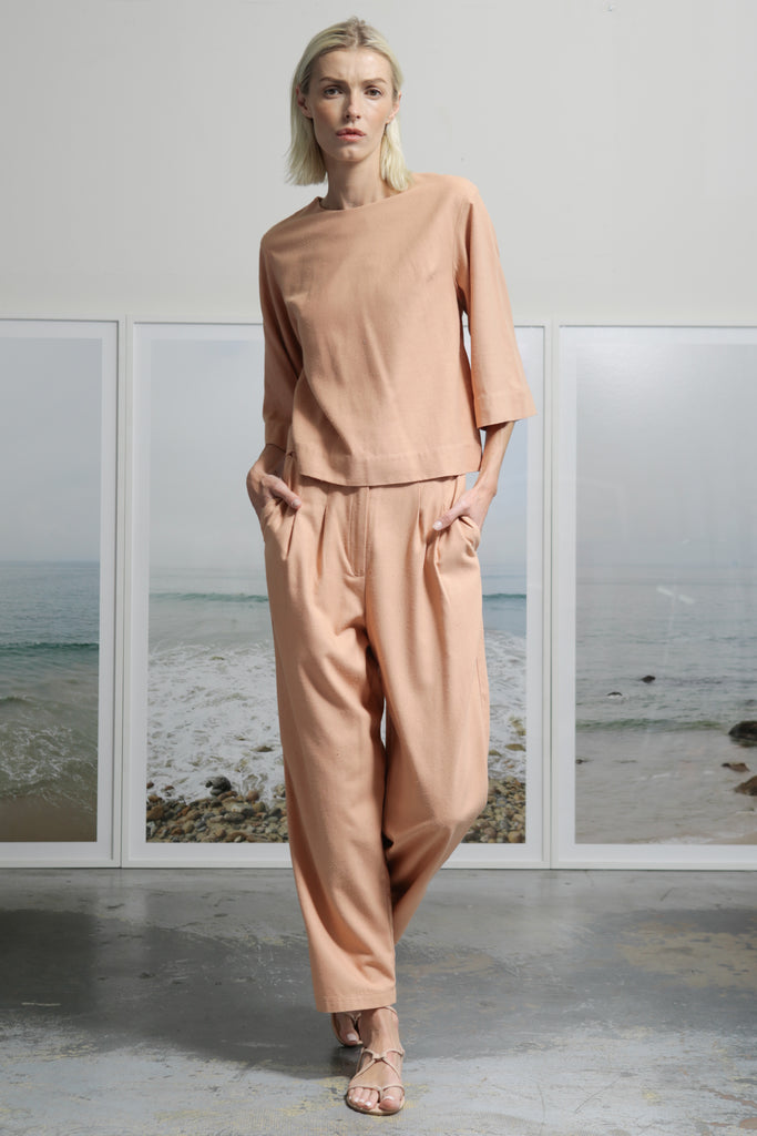 KAOLIN TROUSER - BLUSH