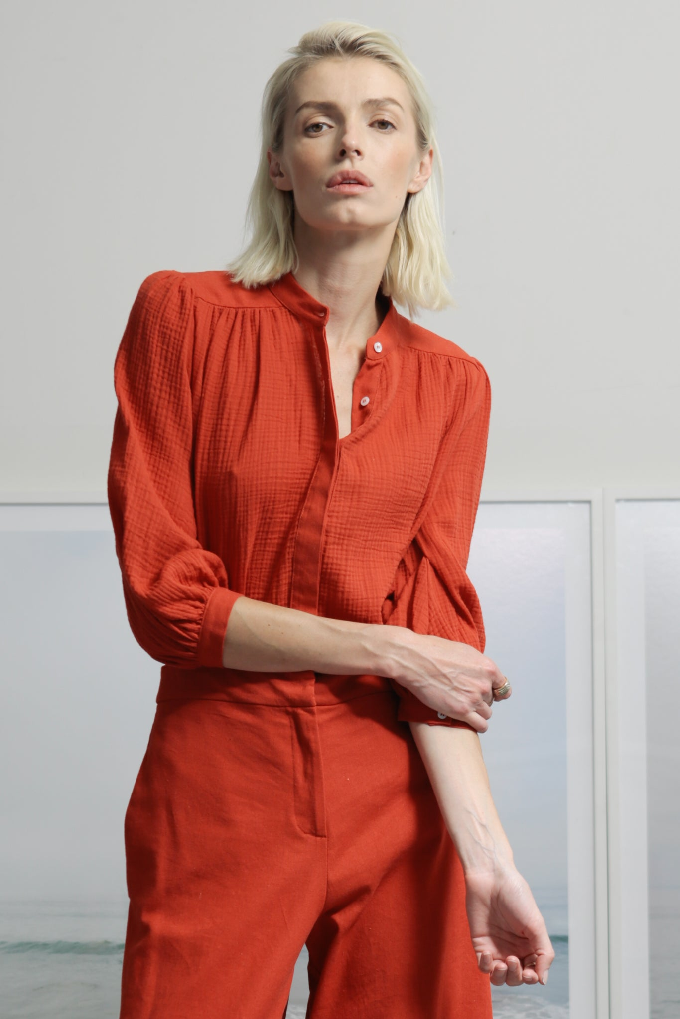 MARISH TOP - RED