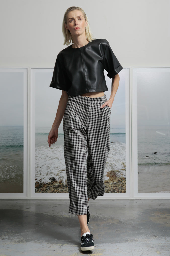 ROSSELLINI PANTS - CHECK