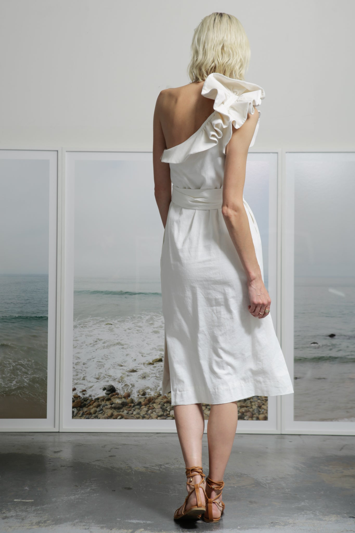 BARONESS DRESS - WHITE
