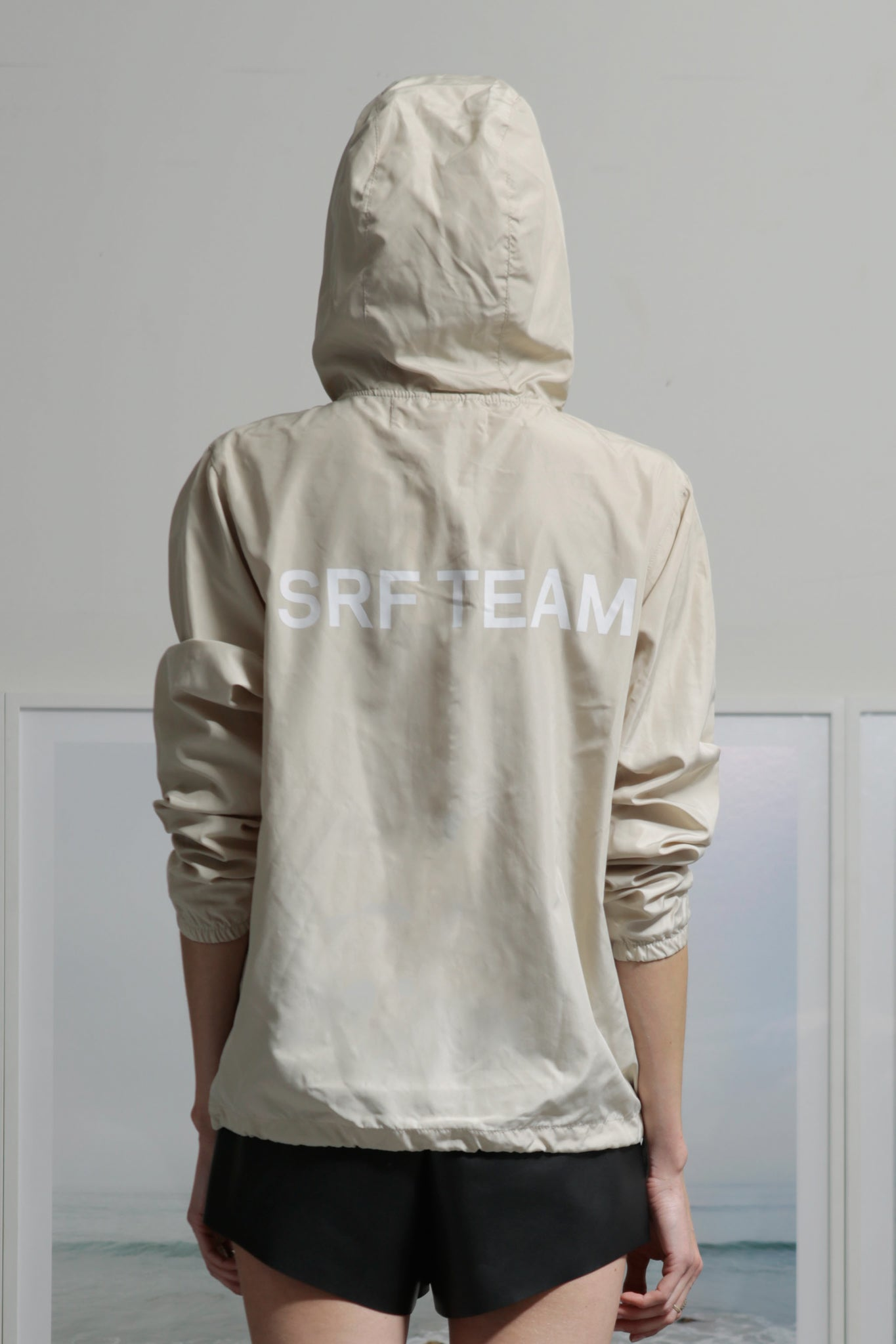 SRF TEAM WINDBREAKER - SAND - SIZES XS/S/M/L