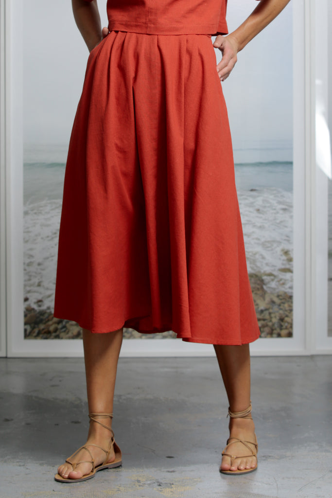 APOLLO SKIRT - RED