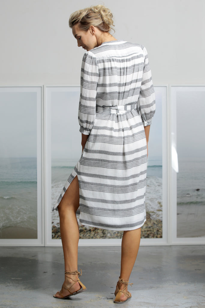 MARISH DRESS - STRIPE