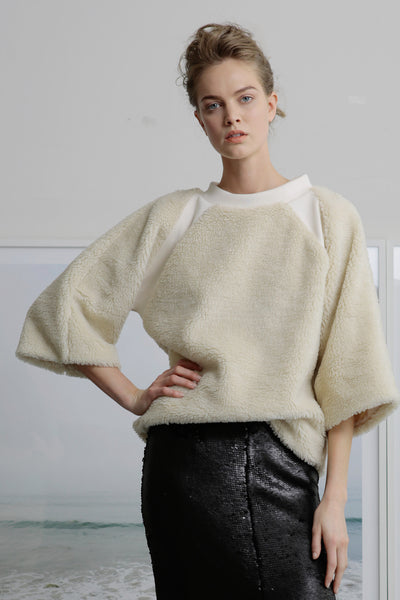 CHRISTIANA JUMPER - SHEARLING