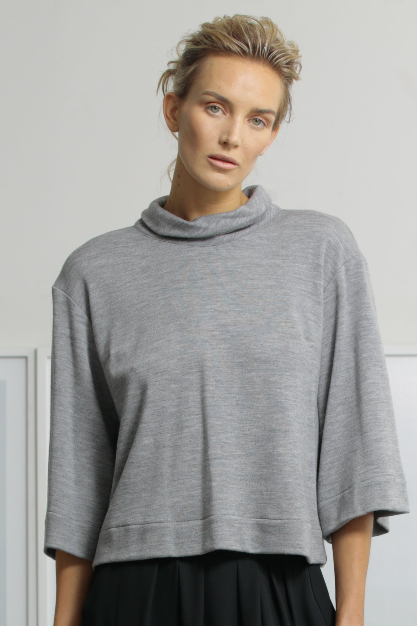 JANE TOP - GREY