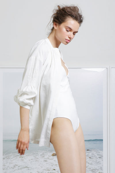 PLAGE COVERUP - WHITE