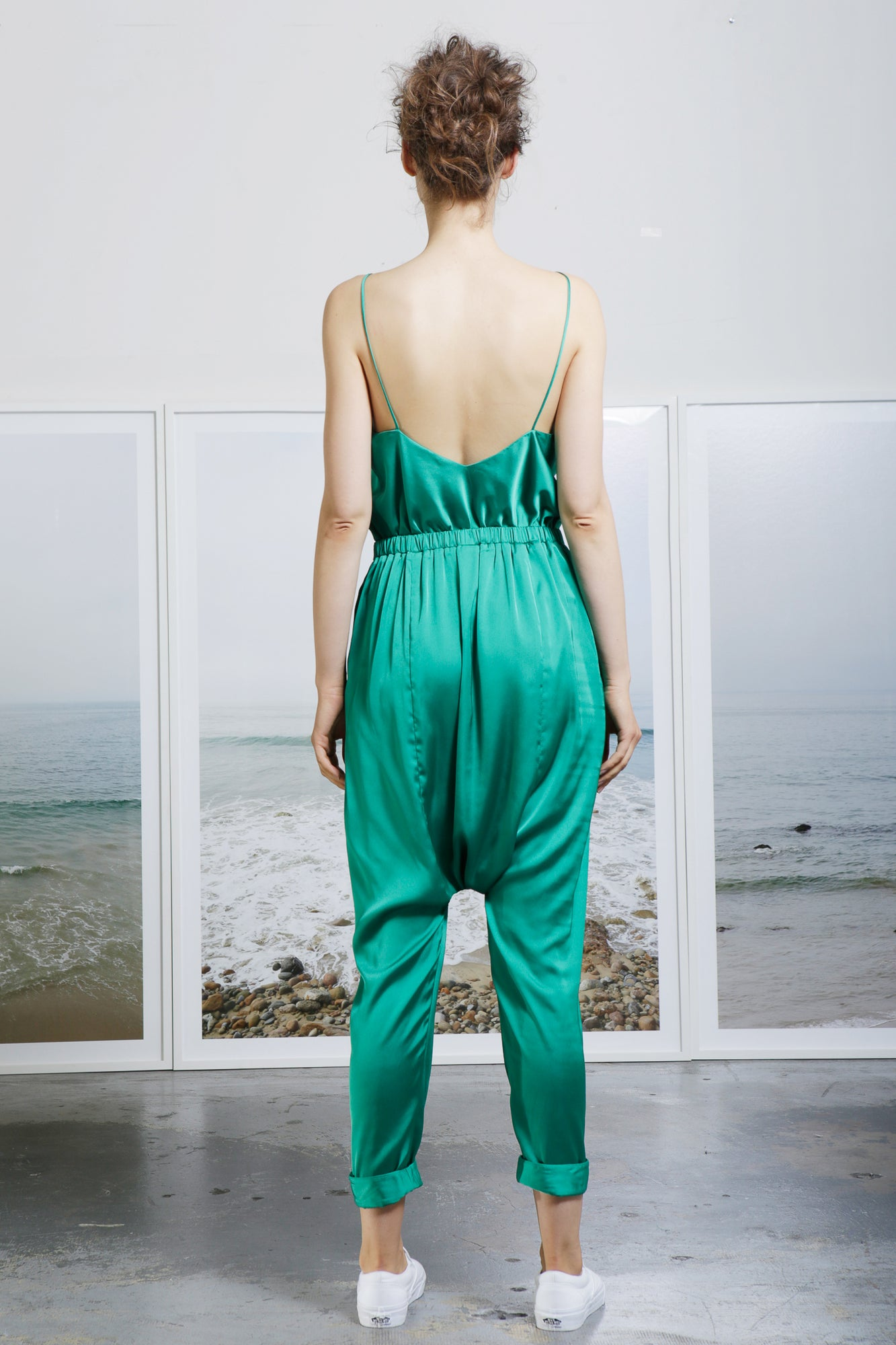 MARRAKECH JUMPSUIT - JADE