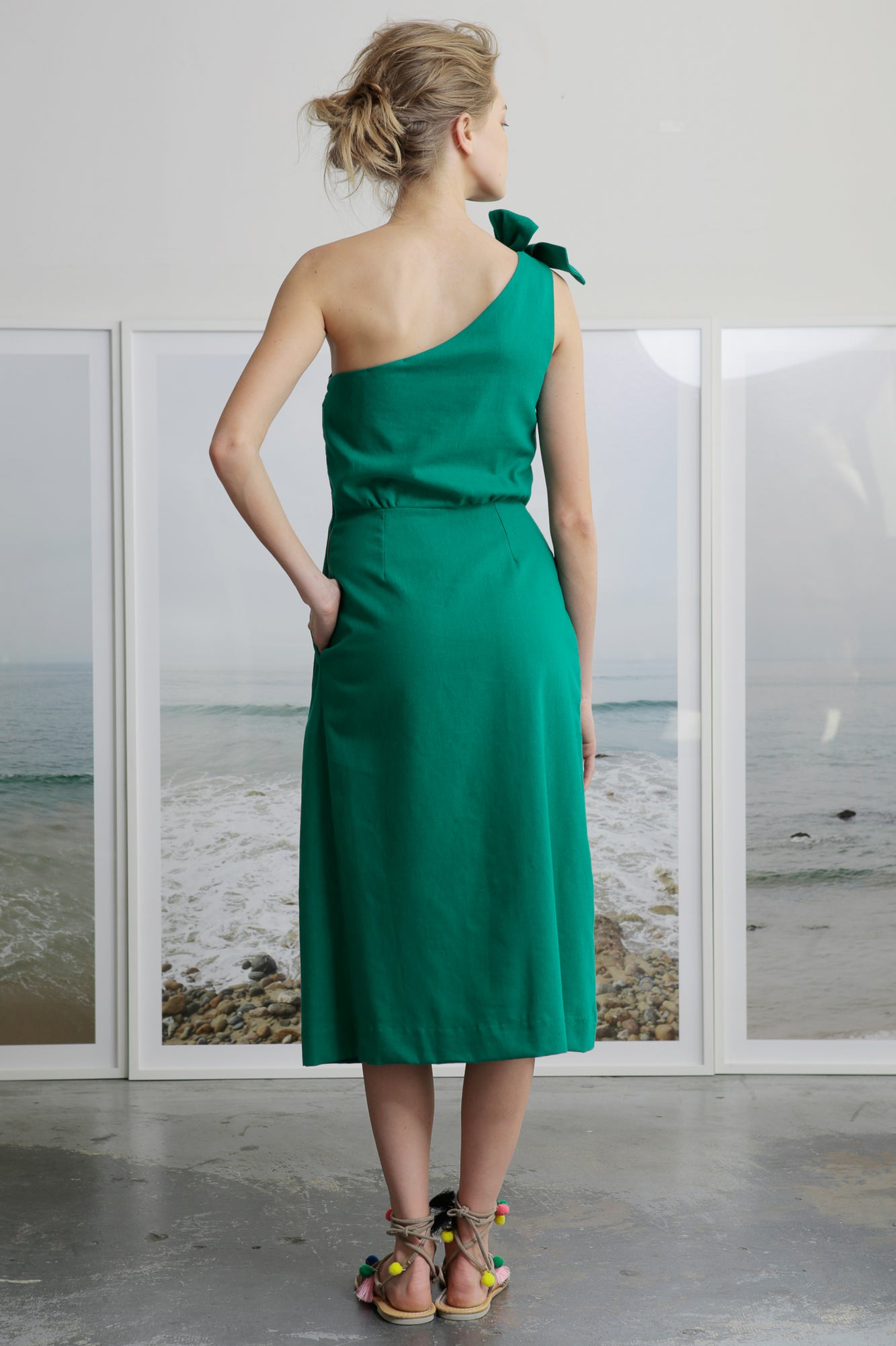 BIANCA DRESS - GREEN