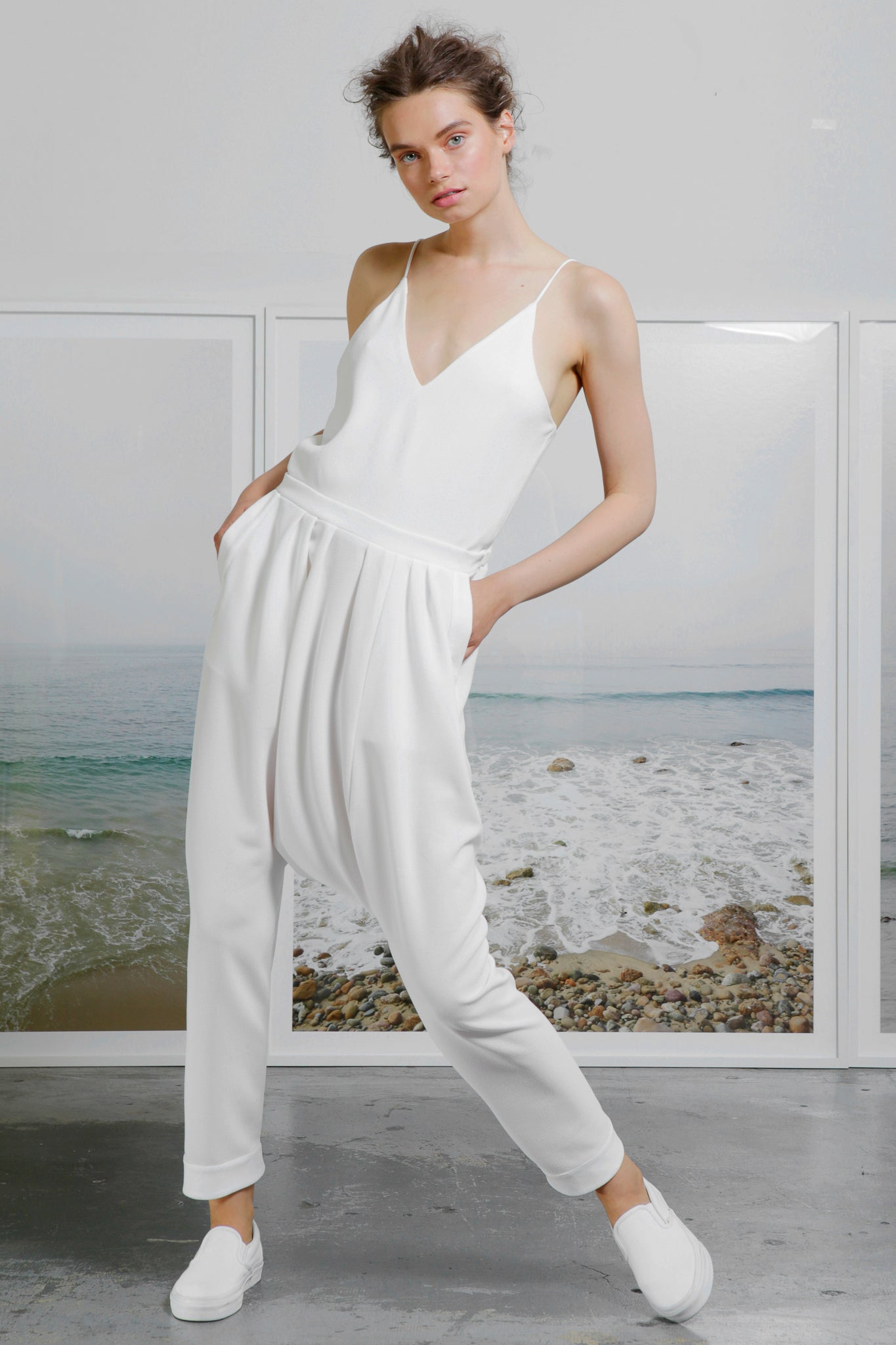 MARRAKECH JUMPSUIT - WHITE