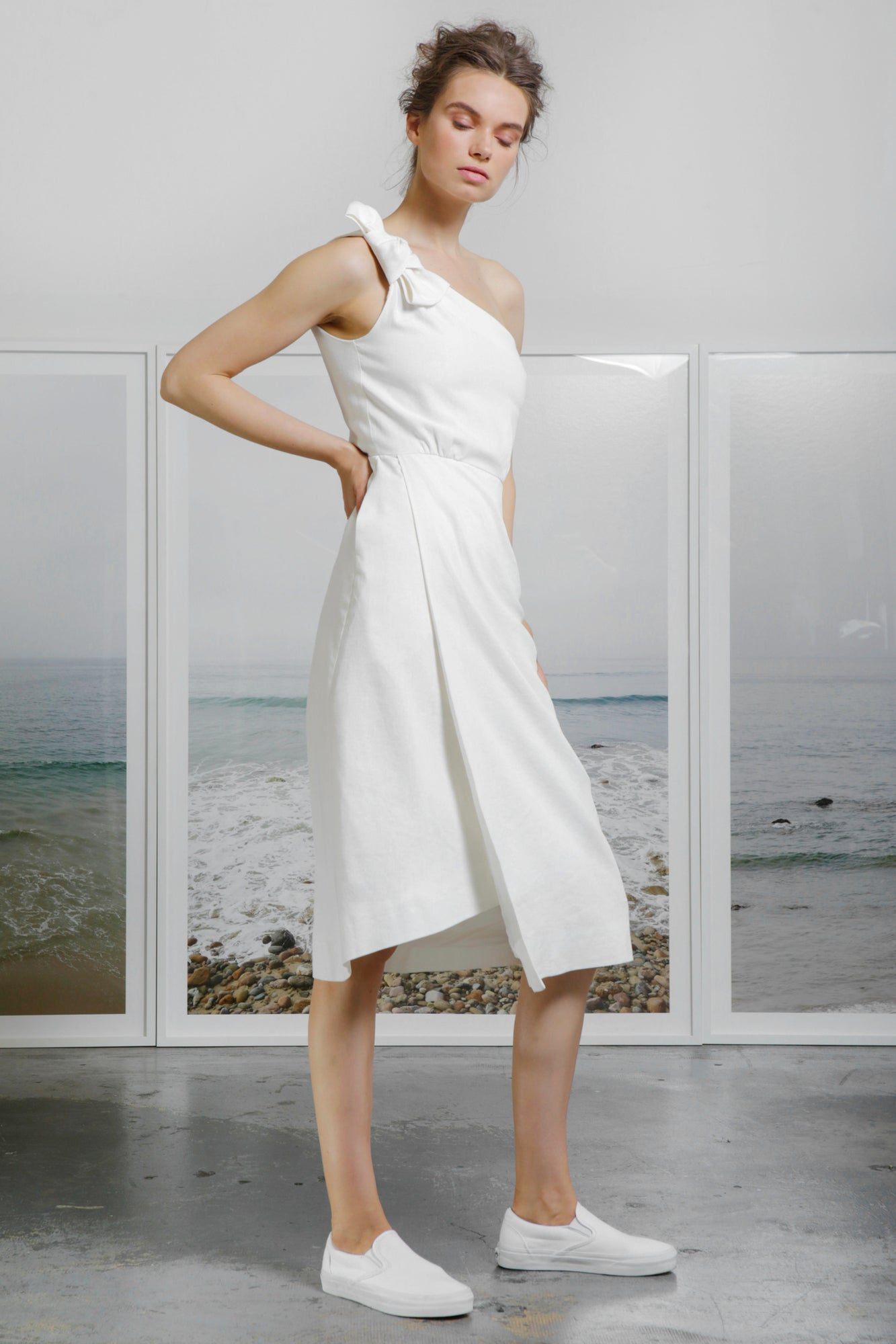 BIANCA DRESS - WHITE