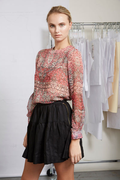 TOILE TOP - PAISLEY