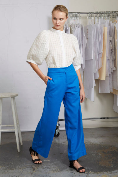 THEO TROUSER - BLUE