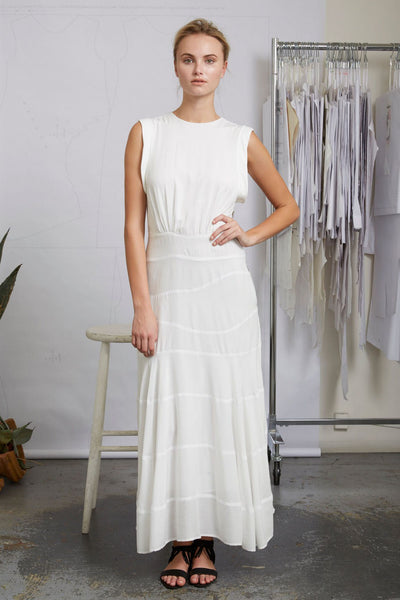 WINDHILL DRESS - WHITE