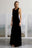 WINDSOR GOWN - BLACK VELVET