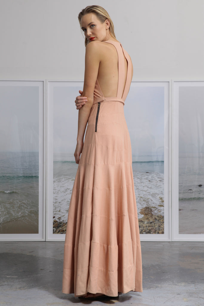 WINDSOR GOWN - BLUSH