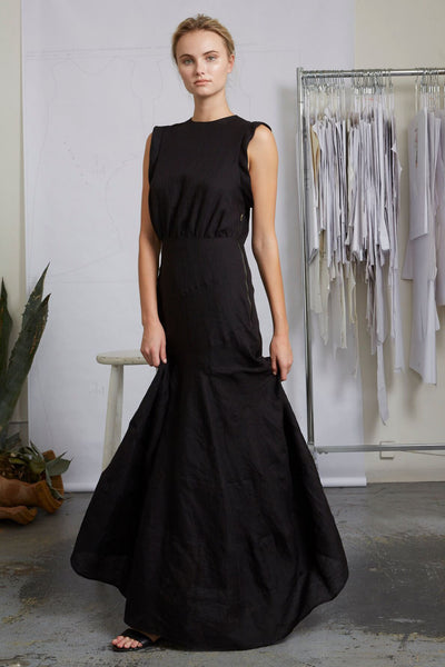 WINDHILL DRESS - BLACK