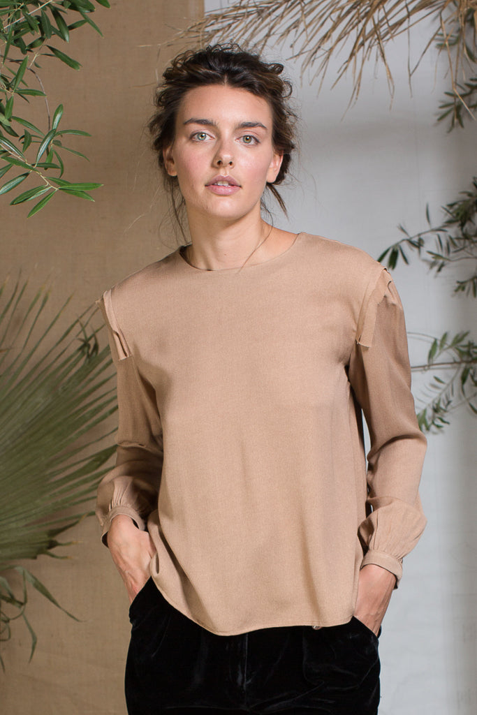 TOILE TOP - BLUSH