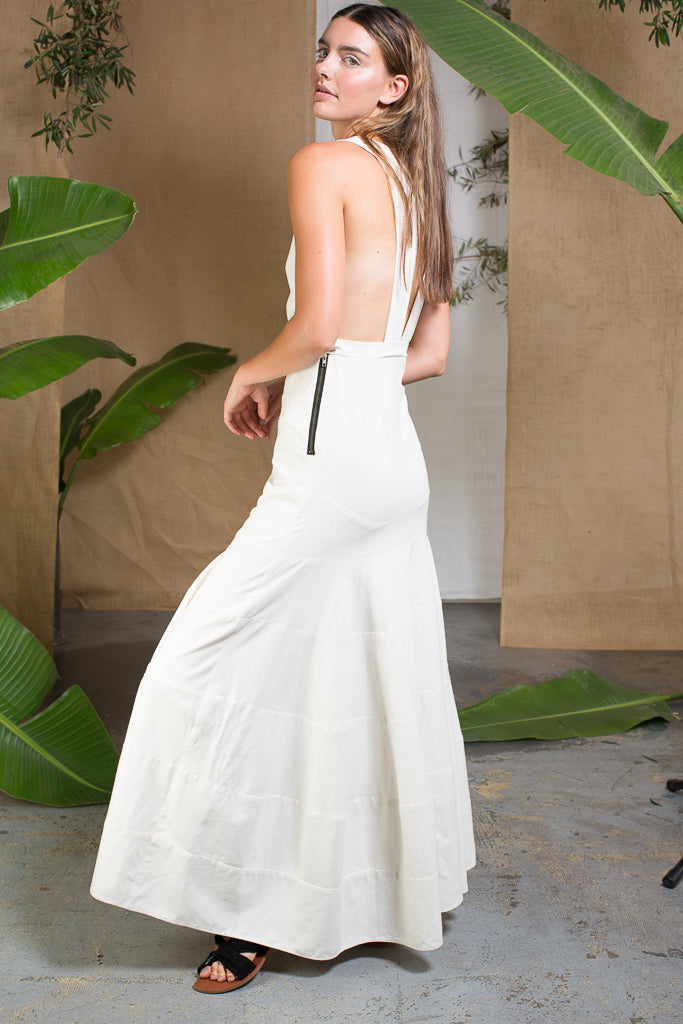 WINDSOR GOWN - IVORY