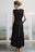 SAN SIMEON DRESS - BLACK - PRE ORDER