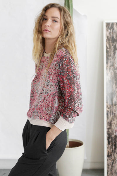 TRACY TOP - PAISLEY