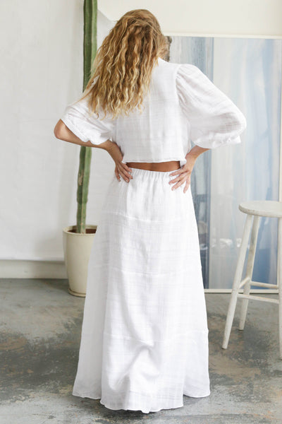 BALTIC DRESS - WHITE