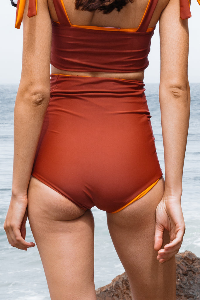 VICENT BOTTOM - RUST - SIZES S/L