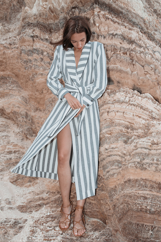 GRACE ROBE - SUMMER STRIPE