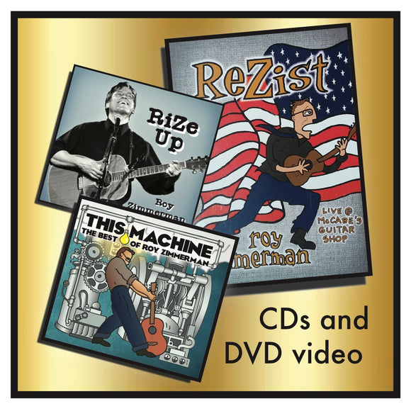 Introductory Bundle - RiZe Up CD and ReZist DVD VIDEO