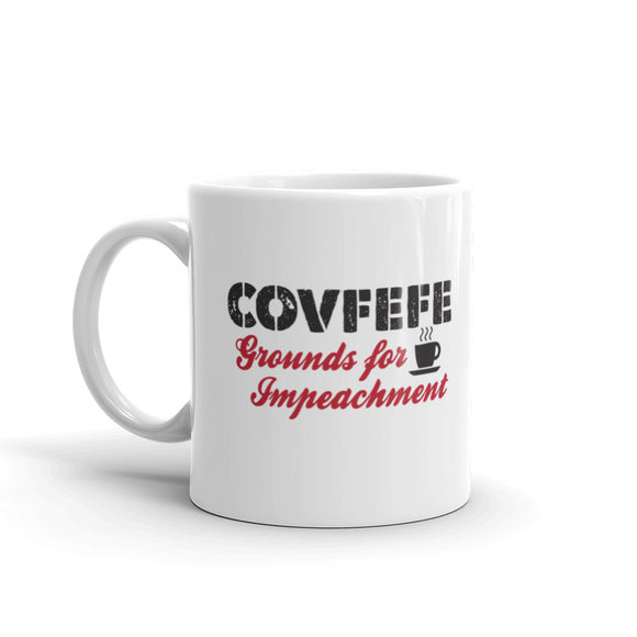 COVFEFE - Grounds for Impeachment Mug