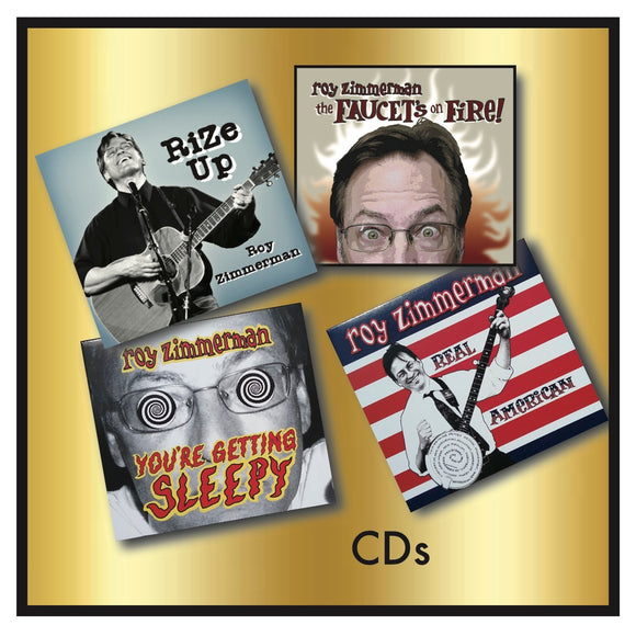 SAMPLER PACK CD BUNDLE - Get the 4 latest CDs for the price of 3