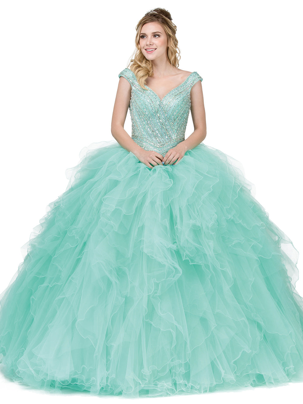 Dress2018 QUINCEANERA DQ1273