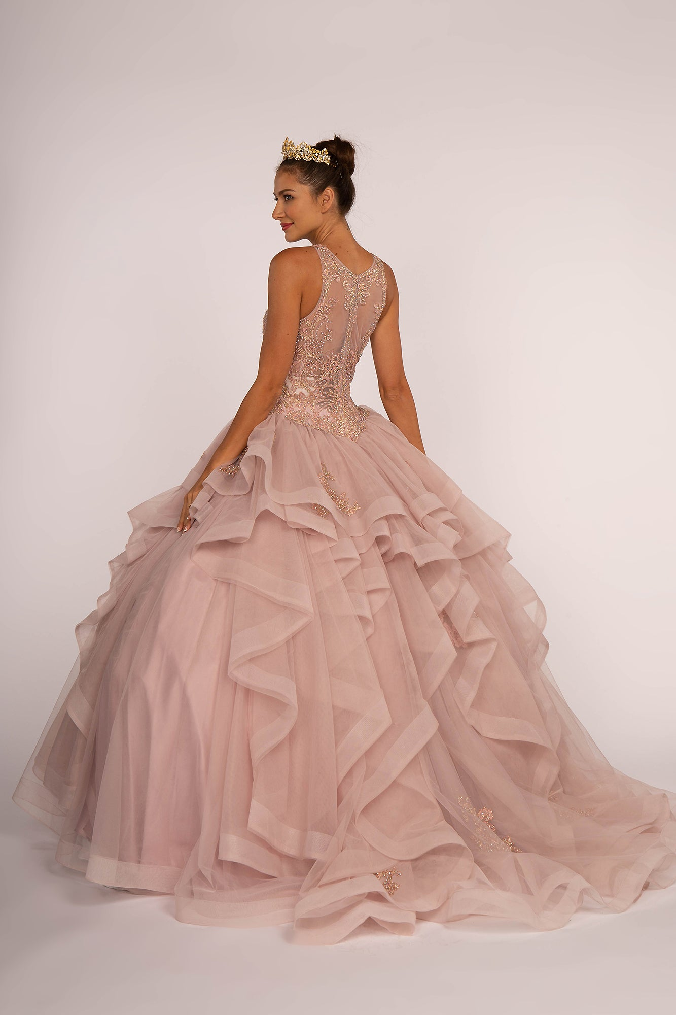 QUINCEANERA Dress EXL2513 - Extreme Style