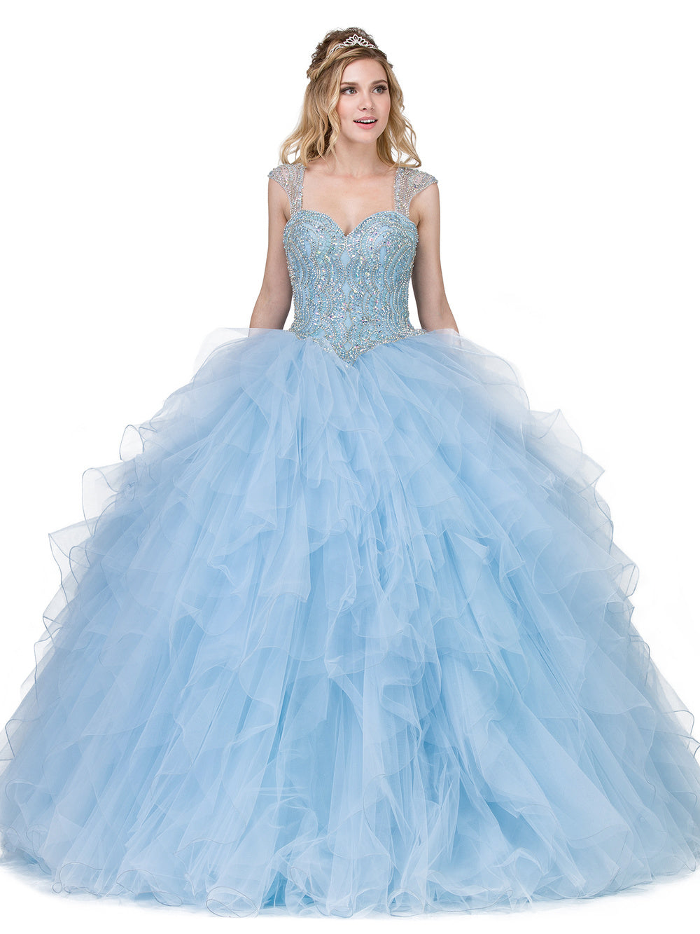 Dress2018 QUINCEANERA DQ1272