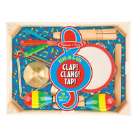 Clap! Clang! Tap! Band-in-a-Box