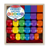 Lacing Beads - Primary