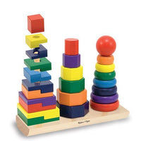 Geometric Wooden Stacker