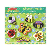Chunky Puzzle - 7 Pieces - Insects