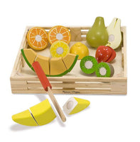 chambersburg toy store wooden fruit cutting food