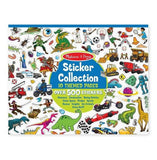 Sticker pad - 500+ Stickers - Dinosaurs, Vehicles, Space, and More