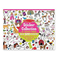 500+ Stickers - Princesses, Tea Party, Animals, and More